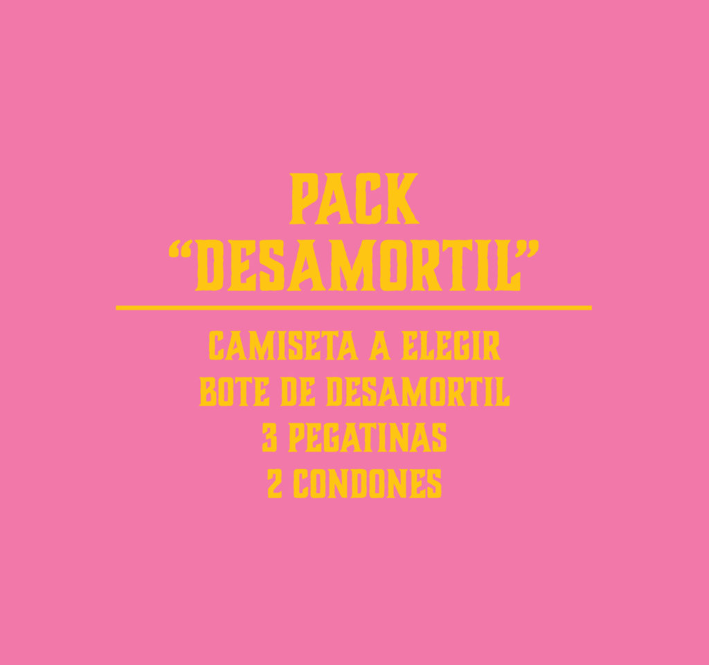"PACK ""Desamortil"""